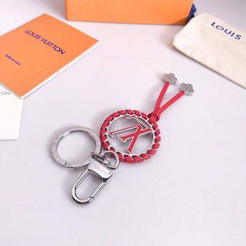 Louis Vuitton Lv Very Bag Charm And Key Holder Red M63082 - Best Online Sale