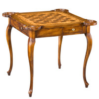 Sarreid 24302 Parquet Game Table