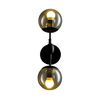 Modern Magie Glass Ball Wall Lamp Vintage Wall Light Bedroom Bedside Wall Socnces Light Fixtures Home Decorative Luminaire