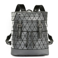 2018 New Geometric Backpack Women Girls Holographic Backpack Most Fashionable Bao Bagpack Travel Bag mochilas-in Backpacks from Luggage & Bags on Aliexpress.com | Alibaba Group