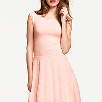 Lace-trim Fit-and-flare Dress - Victoria's Secret
