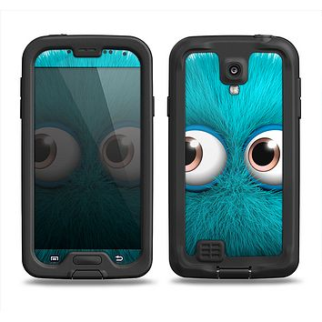 The Teal Fuzzy Wuzzy Samsung Galaxy S4 LifeProof Nuud Case Skin Set