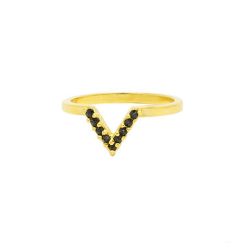 I liked this design on #Fab. Equis V Ring