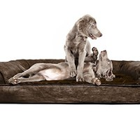 FurHaven Orthopedic Dog Couch - Sofa Pet Bed for Dogs and Cats