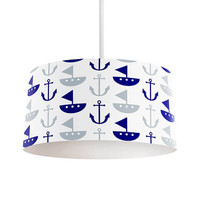 Boat and Anchor Pendant Lamp