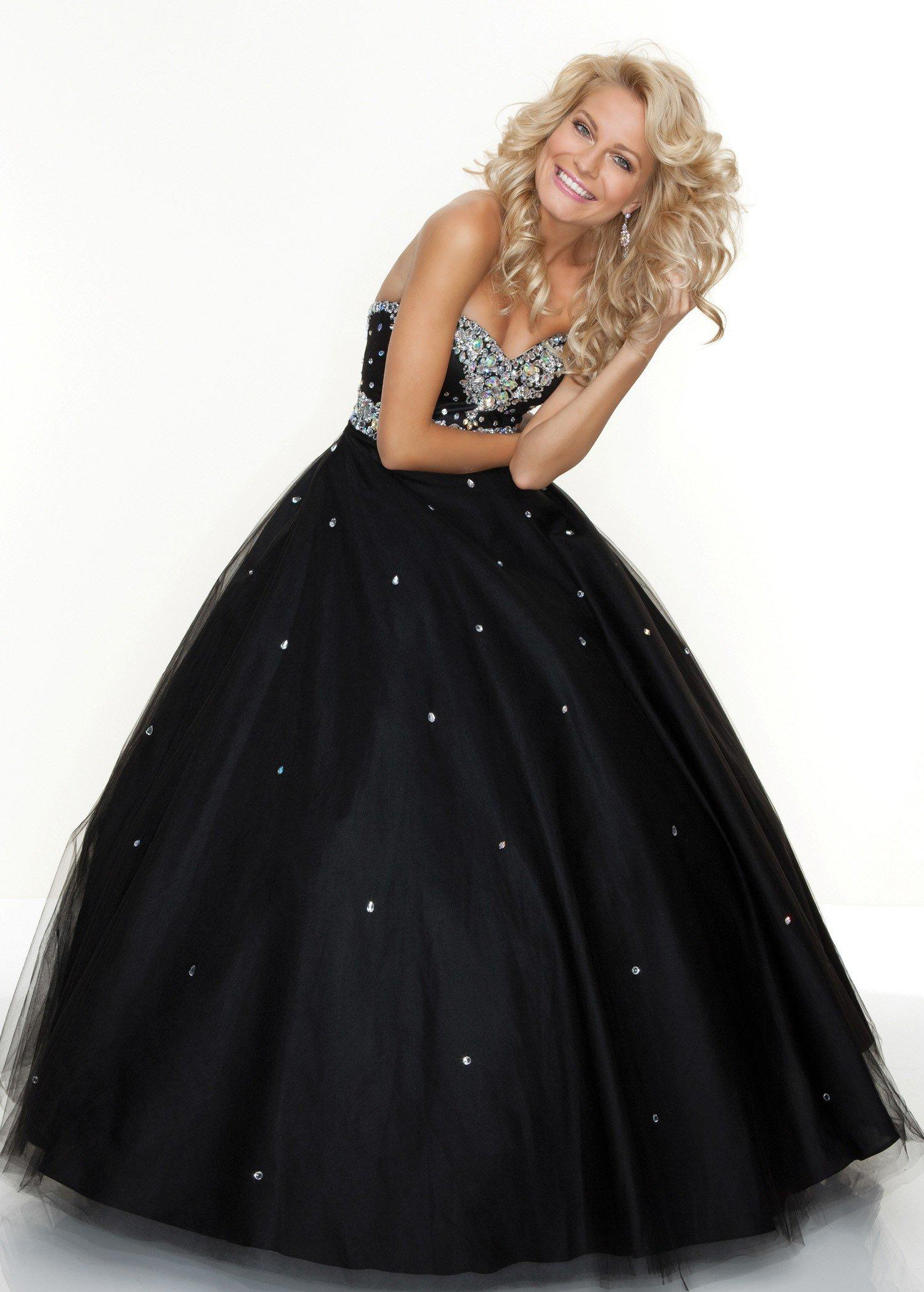 Paparazzi by Mori Lee Black Ball from Rissy Roo s