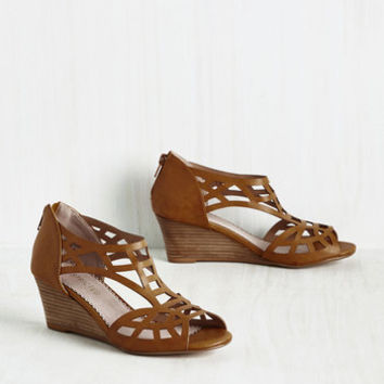 Fortified With Funk Wedge | Mod Retro Vintage Heels | ModCloth.com