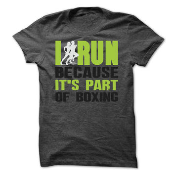 I run because its part of