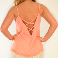 Passionate For Peach Top: Peach