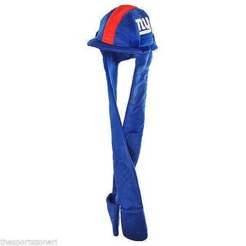 New York Giants Thematic Long Dangle Hat
