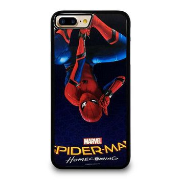 homecoming spiderman iphone 4 4s 5 5s se 5c 6 6s 7 8 plus x case  number 1