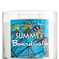 1 X Bath and Body Works 2013 Limited Edition Summer Boardwalk 14.5oz candle