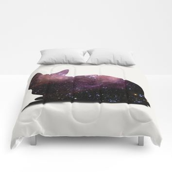 Willow the Galaxy Cat! Comforters by All Is One