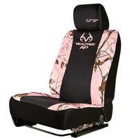 Walmart: Realtree Pink Camouflage Low-Back Bucket Seat Cover