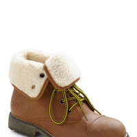 Logging Miles Boot in Brown | Mod Retro Vintage Boots | ModCloth.com