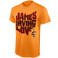 Cleveland Cavaliers State Outline T-Shirt – Gold