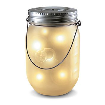 Discovery Kids Firefly Mason Jar LED Light