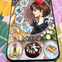 Kiki's Delivery Service for iPhone 4/4s, iPhone 5/5S/5C/6, Samsung S3/S4/S5 Unique Case *76*