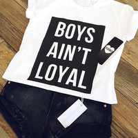 RWDZ x Outfit of Love Boys Ain't Loyal T-Shirt