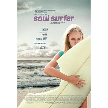 Soul Surfer 27x40 Movie Poster (2011)