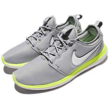 Nike Roshe Two 2 Wolf Grey Green Men Running Shoes Sneakers 844656-007 - Ready Stock