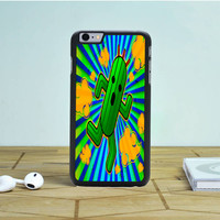 Running Cactus iPhone 6S Plus Case Dewantary