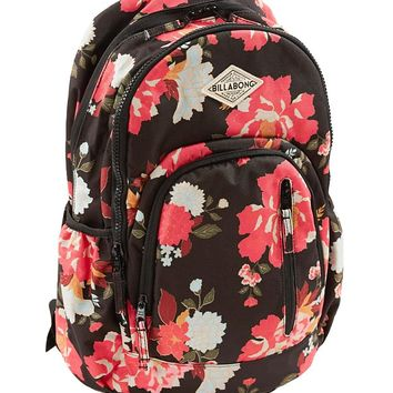 Billabong Roadie Floral Backback - Women's Accessories in Black | Buckle