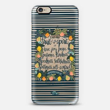 Fruit of the Spirit iPhone 6 case by French Press Mornings | Casetify