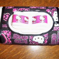 Large Hello Kitty Wipe Case