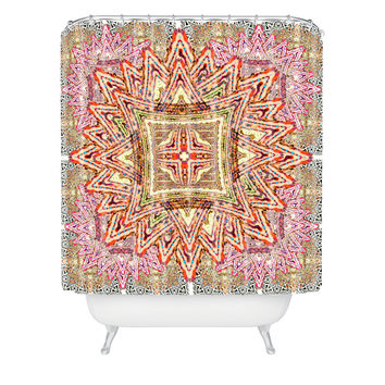Ingrid Padilla Boho Vintage Shower Curtain
