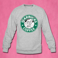 starbucks sweater Sweatshirt Crewneck Men or Women Unisex Size
