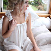Daydreamers frill negligee/night gown by EmmaHighfield on Etsy