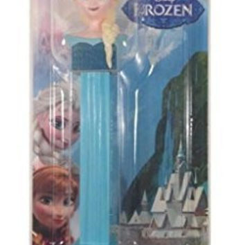 Pez Candy Dispenser: Disney Frozen Elsa Blister Card