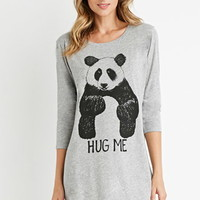 Panda Graphic Nightdress
