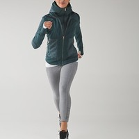 fleecy keen jacket iii | women's running jackets | lululemon athletica