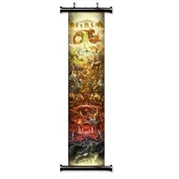 "1 X The Legend of Zelda 25th Anniversary Game Fabric Wall Scroll Poster (16"" x 87"") Inches by NA"