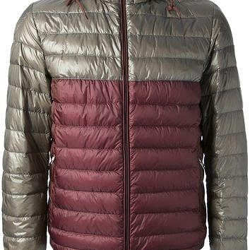 Moncler 'Emeric' Bi-Colour Padded Jacket
