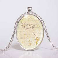 Pendant with Chain - Little Prince - Flying with the birds