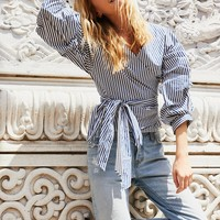 Free People Madeline Wrap Top