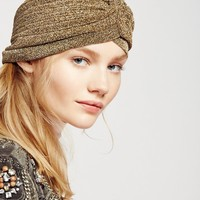 Free People VIP Metallic Turban