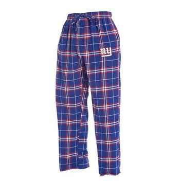NY Giants Huddle Men's Flannel Pants