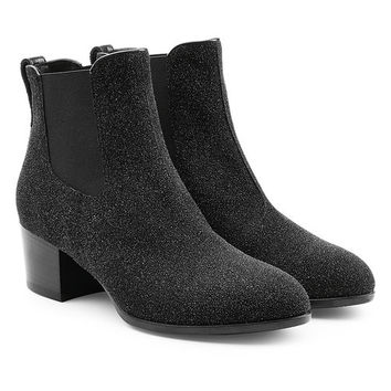 Leather Ankle Boots - Hogan | WOMEN | US STYLEBOP.COM