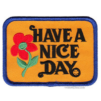 Have A Nice Day Patch on Sale for $2.99 at HippieShop.com
