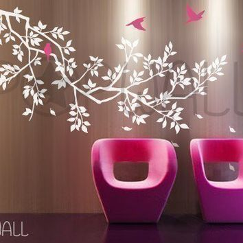 Free Shipping Etsy Spring Branch Tree with birds by NouWall