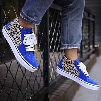 Supreme VANS Leopard fashion casual shoes One-nice™