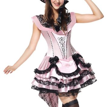 MOONIGHT Princess Belle Halloween Costume Southern Beauty and the Beast Cosplay Gothic Lolita Fancy Dress Carnival Party
