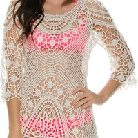 SWELL IN A FIELD CROCHET COVERUP
