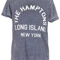 Tall Hamptons Burnout Tee - New In This Week  - New In
