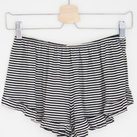 Striped Frill Shorts