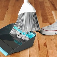 Quirky BRG-1-CHR Broom Groomer Broom Cleaning Dustpan